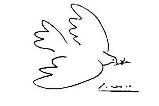 Pablo Picasso, Colomba della pace.