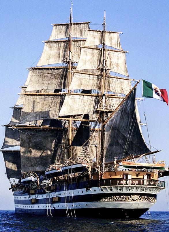 vespucci amerigo 1, nave, foto
